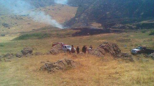 النظام الايراني يقصف بالمدفعية القرى التابعة لمحافظة اربيل في اقليم كردستان العراق- أرشيف