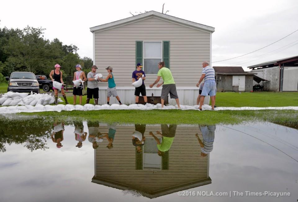 سیل در لوییزیانا با ۸ کشته و 40هزار خانه