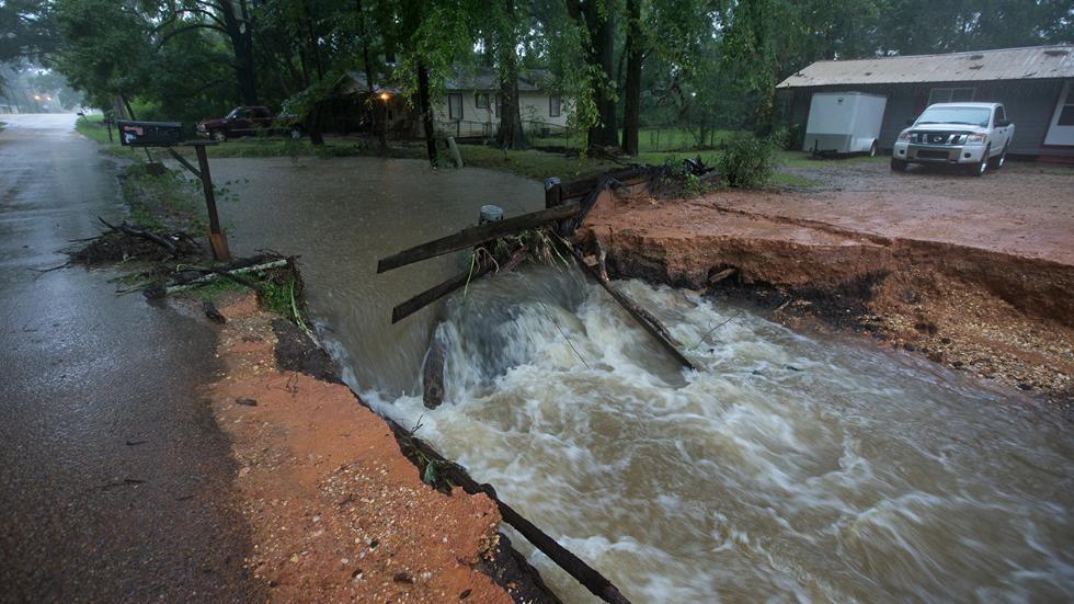 سیل در لوییزیانا با ۸ کشته و 40هزار خانه خسارت