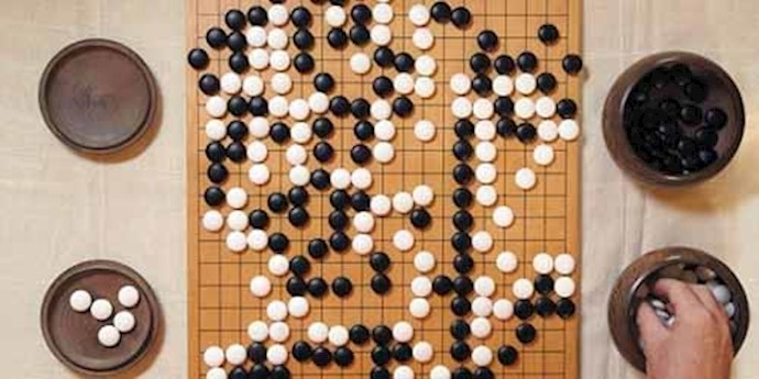 بازی 'گو'  یک بازی دو نفره باستانی چینی