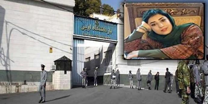آتنا فرقدانی کاریکاتوریست  در زندان اوین