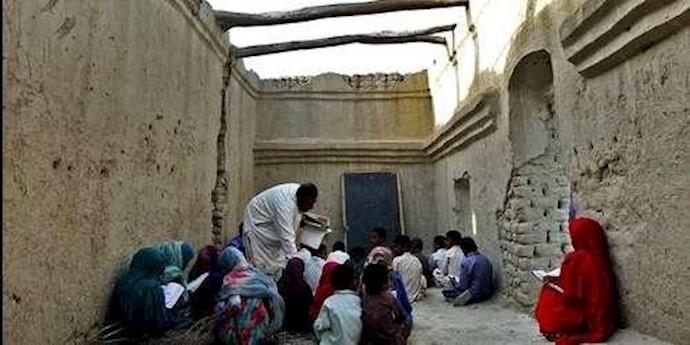 مدارس کپری در سیستان و بلوچستان