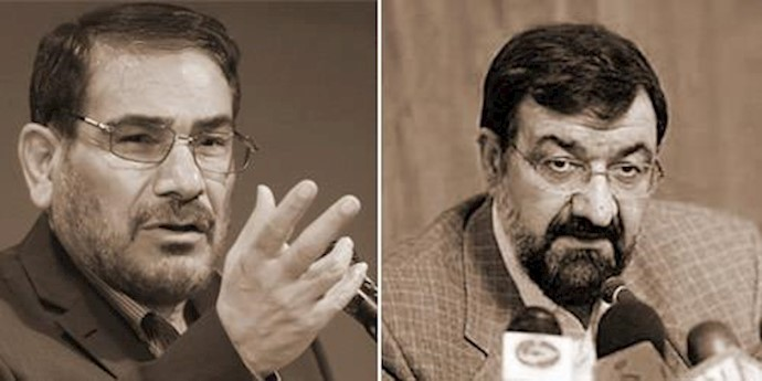 محسن رضایی و علی شمخانی