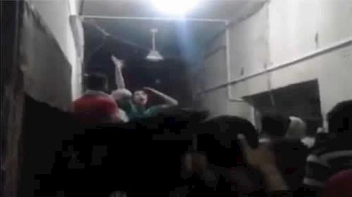 شورش در زندان حما - آرشیو