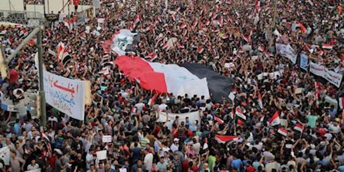 تظاهرات سراسری در عراق - آرشيو