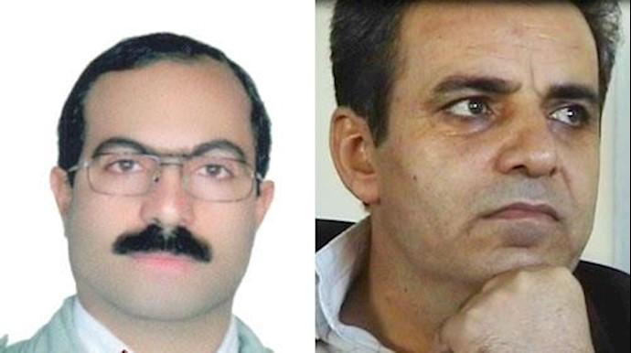 زندانیان سیاسی  محمدصدیق کبودوند و رسول رضوی