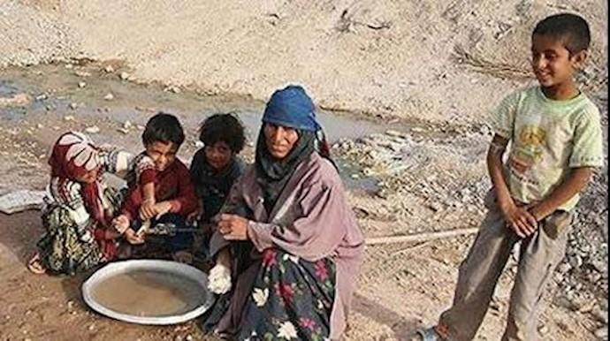 فقر در ایران تحت حاکمیت آخوندها