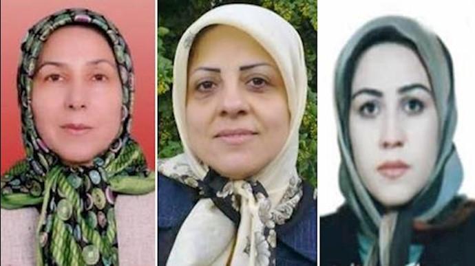 زندانیان سیاسی مریم اکبری منفرد - زهرا زهتابچی - صدیقه مرادی