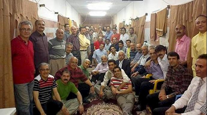 اعتراض زندانیان سالن 12 زندان اوین بهخاطر گماشتن یک مزدور به مدیریت سالن-آرشیو