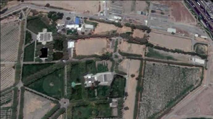 کاخ ملک آباد مشهد