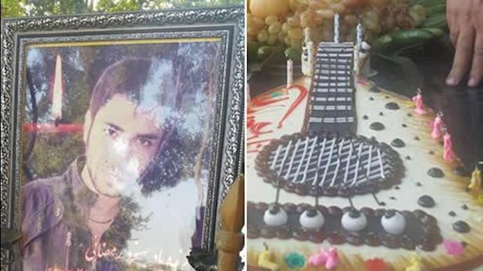 مراسم سالگرد تولد شهید بهنود رمضانی در آرامگاه وی برگزار گردید