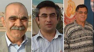 علی صارمی، جعفر کاظمی و محمدعلی حاج آقایی