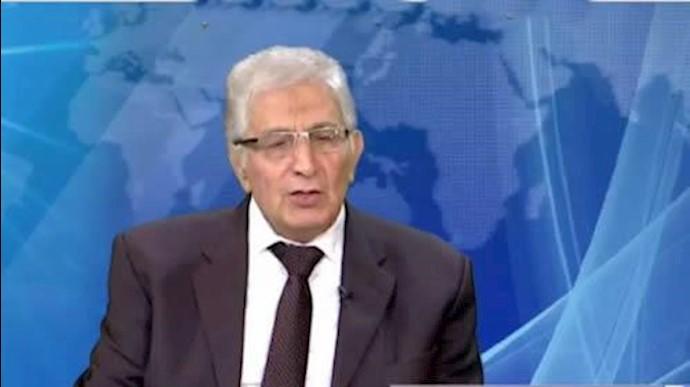 هادی روشن روان عضو کمیسیون امنیت و ضدتروریسم شورای ملی مقاومت