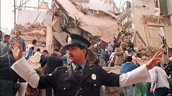 انفجار آمیا در آرژانتین