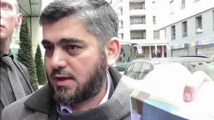 محمد علوش از اعضای هیأت عالی مذاکرهکننده  اپوزیسیون سوریه