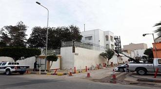 انفجار در مقابل سفارت ایتالیا در طرابلس