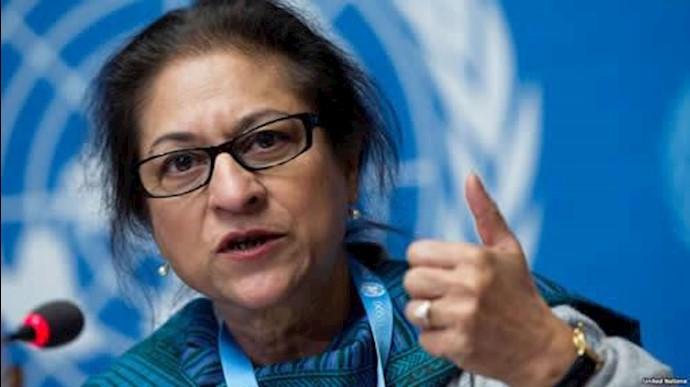 عاصمه جهانگیر، گزارشگر ویژه مللمتحد در امور حقوقبشر ایران