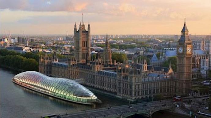 نمایی از مجلس انگلستان