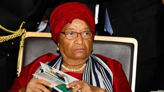 «الن جانسون سیرلیف» رئیس جمهوری کنونی برنده جایزه صلح نوبل در لیبریا