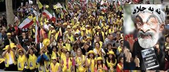 تظاهرات نیویورک - نه به آخوند روحانی
