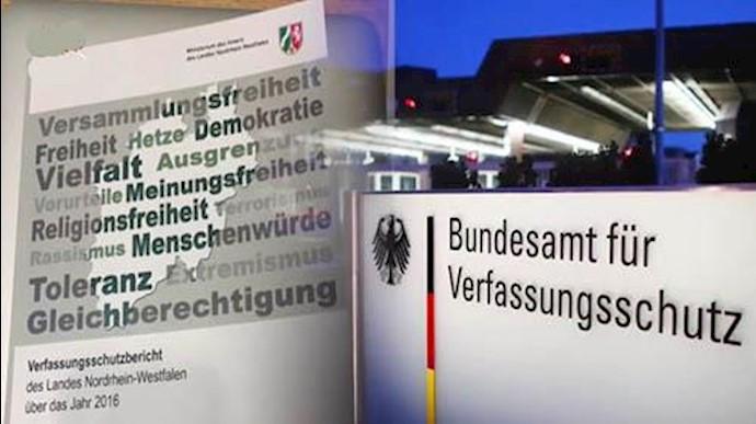 فعالیتهای جاسوسی اطلاعات آخوندی –  گزارش اداره حراست از قانون اساسی آلمان