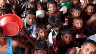 کودکان آراکانی در بنگلادش