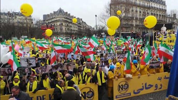 تظاهرات بزرگ جوامع ایرانیان
