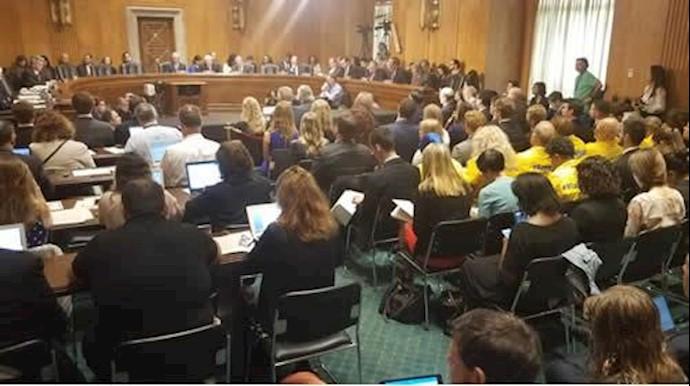 جلسه استماع در کنگره آمریکا