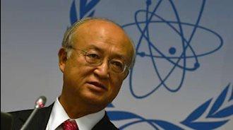 یوکیا آمانو رئیس آژانس بینالمللی انرژی اتمی