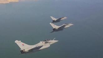 حملات جنگندههای مصری در صحرای سینا