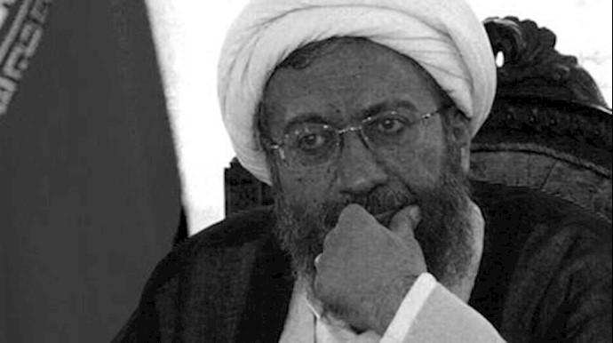 آخوند صادق لاریجانی رئیس قضاییه رژیم
