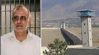 زندانی سیاسی علی معزی در زندان گوهردشت کرج