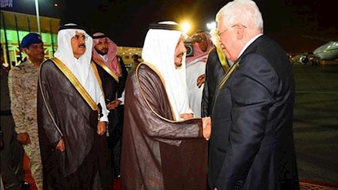محمود عباس رئیس دولت فلسطین وارد عربستان شد