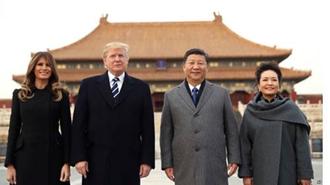دیدار دونالد ترامپ، رئیسجمهوری آمریکا از چین