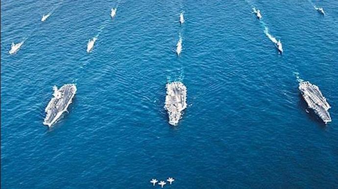 مانور مشترک دریایی آمریکا و ژاپن