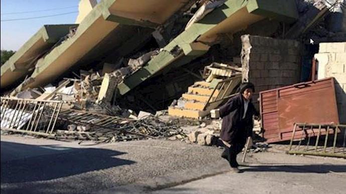تعداد تلفات زمینلرزه ایران به 530تن افزایش یافته است