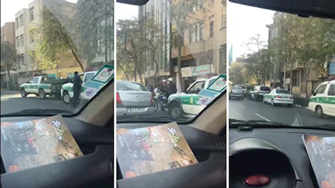 گسیل مأموران انتظامی در مشهد در هراس از تجمع اعلام شده غارتشدگان