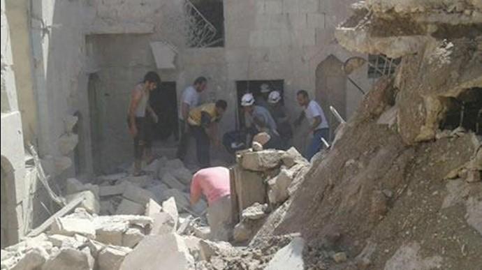 ویرانی در سوریه در نتیجه دخالتهای سپاه پاسداران رژیم