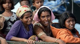 مردم وحشت زده روهینگیایی