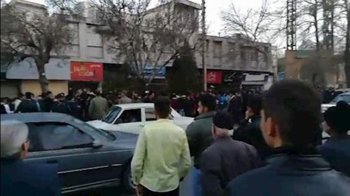 تظاهرات مردم اراک