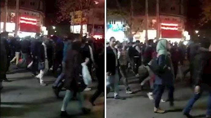 تظاهرات مردم گرگان