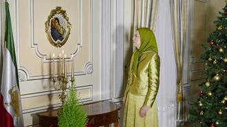 پیام مریم رجوی بهمناسبت میلاد مسیح و آغاز سال میلادی ۲۰۱۸