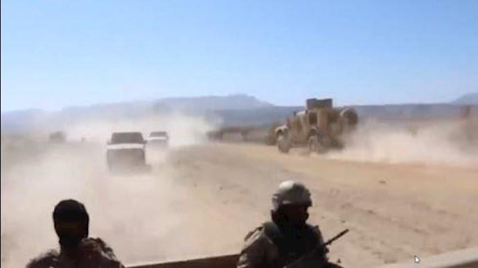حرکت هفت لشکر پیادهنظام ارتش ملی یمن به سوی صنعا