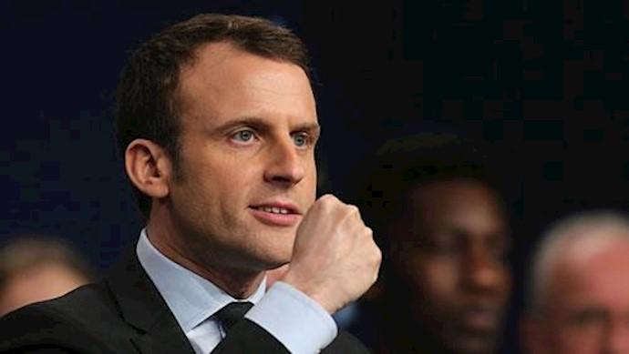 امانوئل ماکرون رئیسجمهوری فرانسه