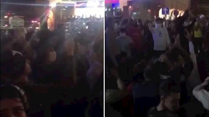 تظاهرات مردم بندرعباس