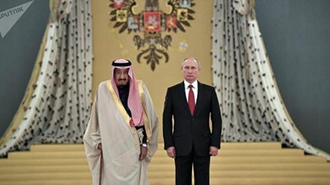 پوتین حمله موشکی به ریاض را محکوم کرد