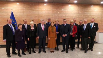 دیدار مریم رجوی از پارلمان اروپا
