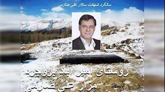 مزار مجاهد شهید علی صارمی