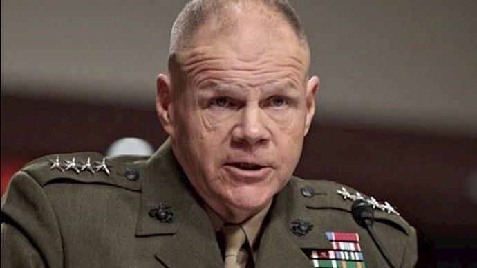 ژنرال رابرت نلر فرمانده یگان تفنگداران دریایی ارتش آمریکا