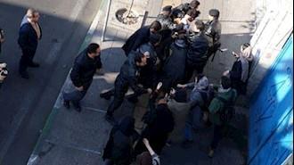 ضرب و شتم و دستگیری معترضین به ادامه زندان رضا شهابی